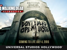 """The Walking Dead"" attraction at Universal Studios Hollywood"