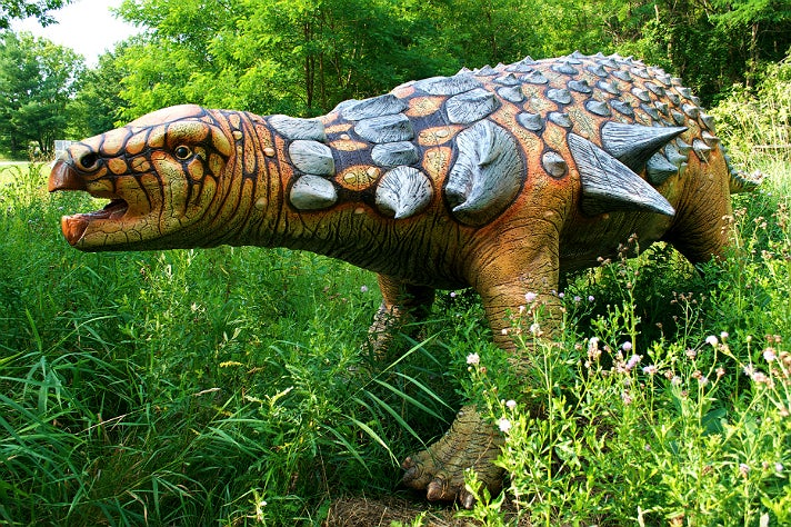 """Edmontonia from """"Dinosaurs: Unextinct at the L.A. Zoo"""""""