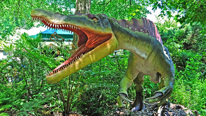 """Suchomimus from """"Dinosaurs: Unextinct at the L.A. Zoo"""""""