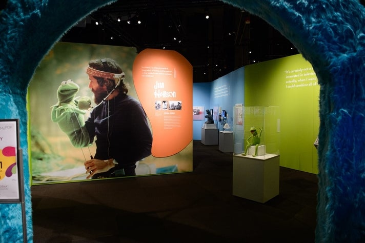 """""""The Jim Henson Exhibition: Imagination Unlimited"""" at Skirball Cultural Center"""