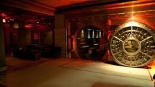 The Crocker Club vault entrance