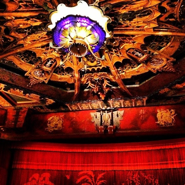 Interior of the TCL Chinese Theatre