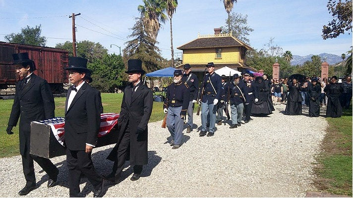 Funeral procession at Halloween & Mourning Tours